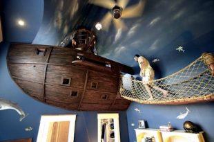 çocuk odası kosneptleri korsan gemisi
