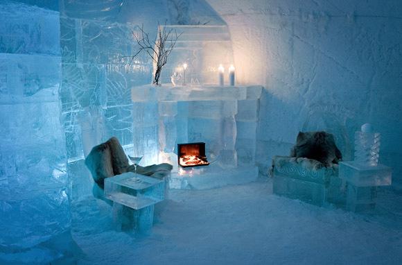 Eskimo Kulübe konseptli otel 13