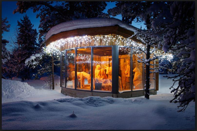 Eskimo Kulübe konseptli otel 8