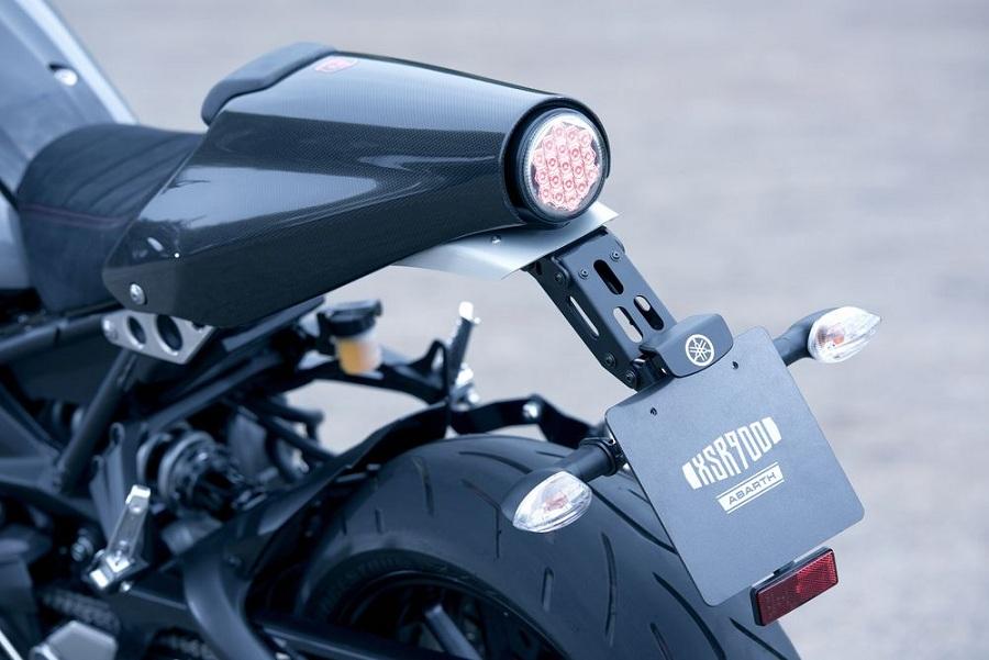 Sınırlı Sayıda Yamaha XSR900 Abarth