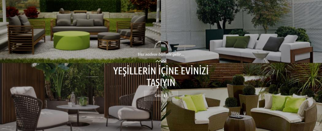 yaz mobilyaları