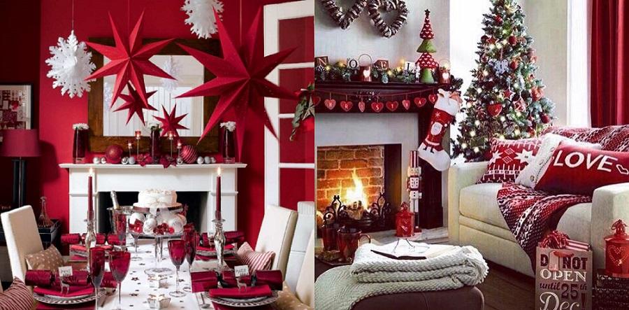 yeni yıl ev dekorasyonu